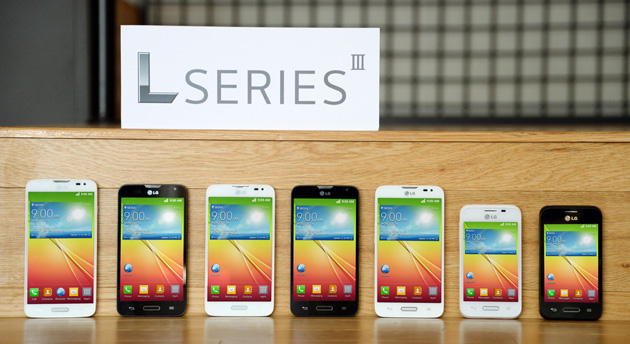 LG annonce ses smartphones L Series III sous Android KitKat