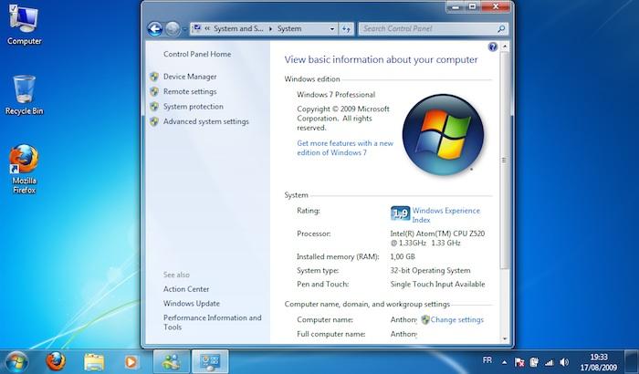 Microsoft retarde la mort des PC avec Windows 7 Pro pré-installé