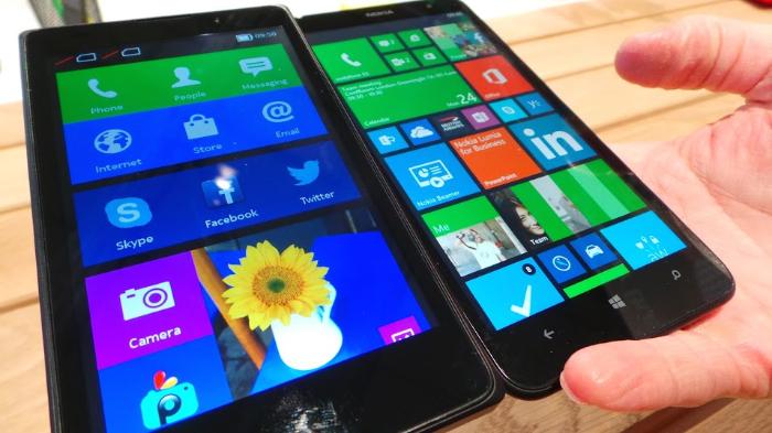 Les Nokia X sous Android ressemble plus à Windows Phone qu'à Android