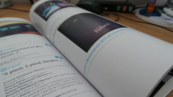Retrouvez toutes vos publications dans votre Social Book