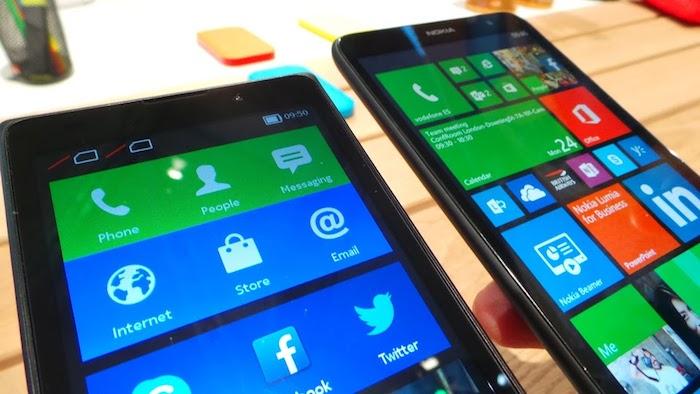 L'interface utilisateur correspond parfaitement à Windows Phone