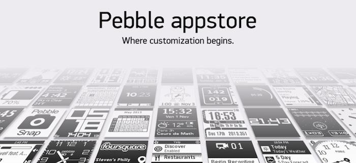 Pebble lance son App Store pour iOS, et en bêta sur Android