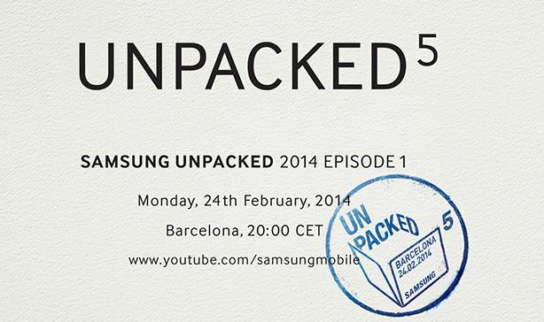 Samsung Unpacked 5 - MWC