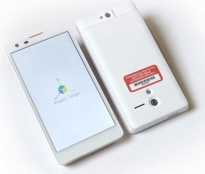 Le prototype du Project Tango de Google