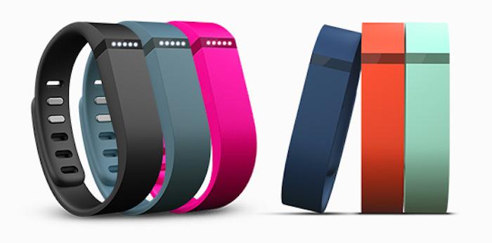 Multiples coloris pour le Fitbit Flex