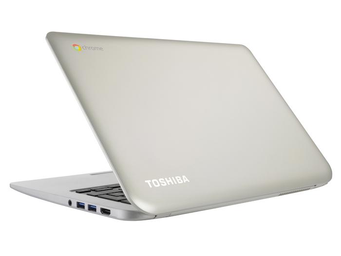 Toshiba Chromebook vue de dos