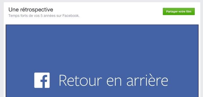 Vous n'avez pas aimé votre rétrospective Facebook ? FB va vous donner les moyens de la changer