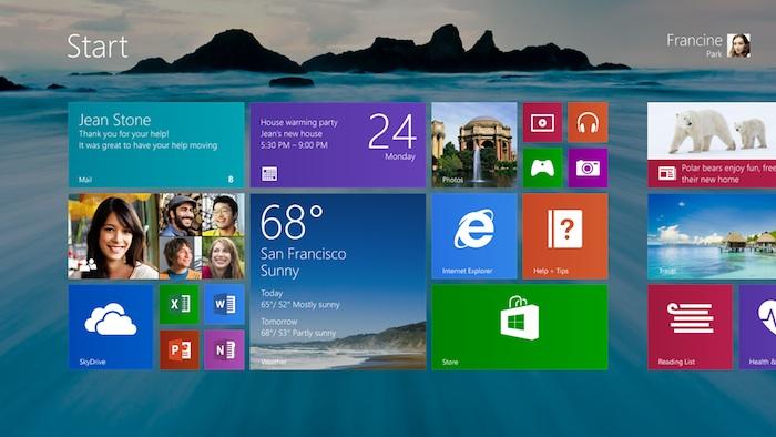 Windows 8.1 progresse, mais est encore loin de Windows XP ou de Windows 7