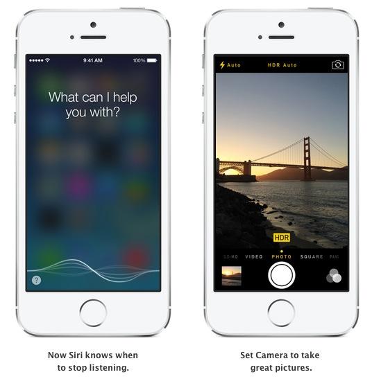 Siri et mode HDR