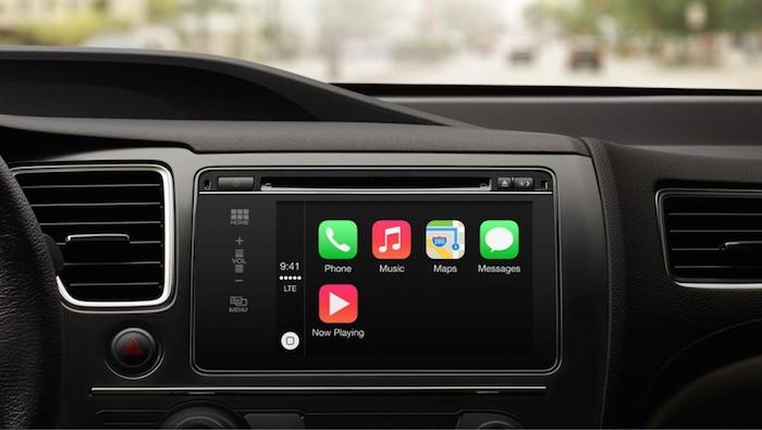 Écouter la musique facilement avec CarPlay