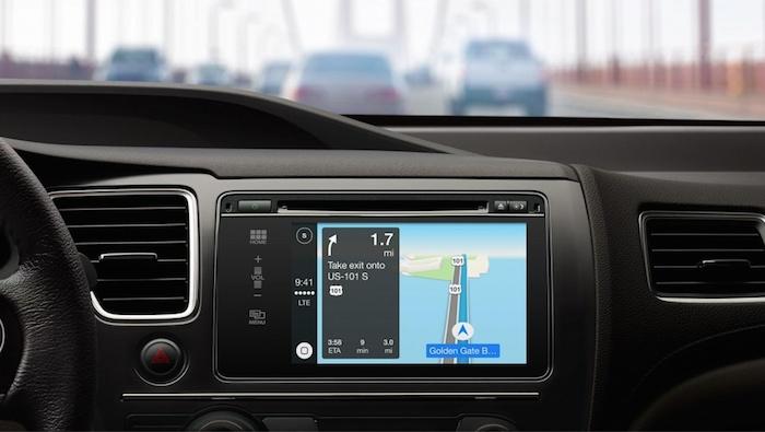 Apple CarPlay va servir d'assistant de navigation