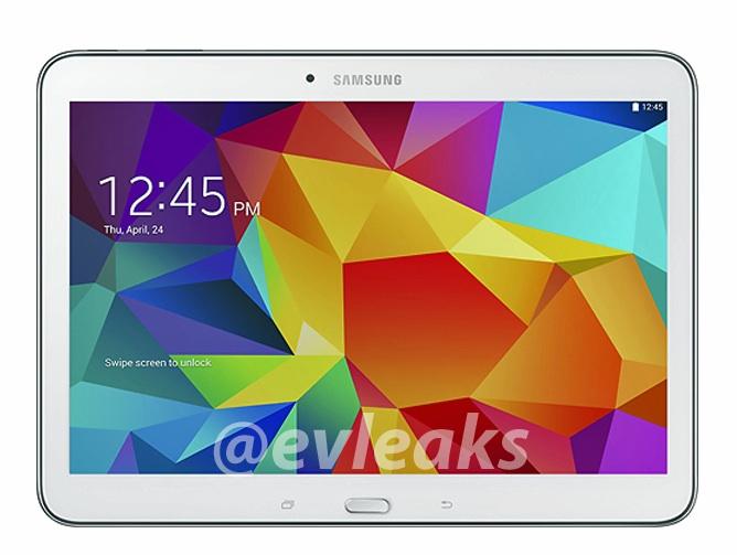 Samsung Galaxy Tab 4 10.1 en blanche