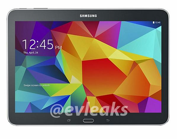 Samsung Galaxy Tab 4 10.1 en noire