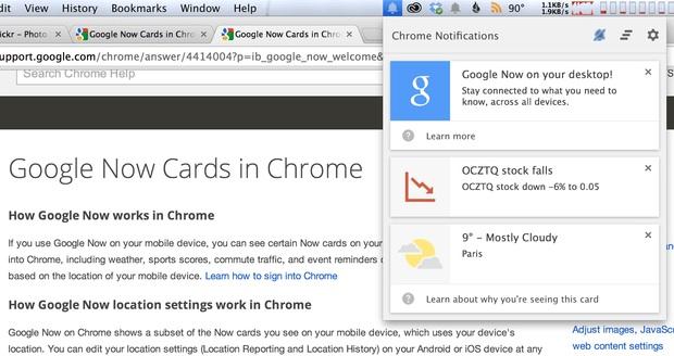 Comment activer Google Now sur votre ordinateur de bureau