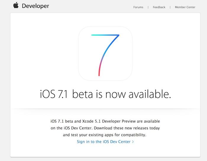 iOS 7.1 : la mise à jour pourrait arriver sur les iPhones et iPads cette semaine