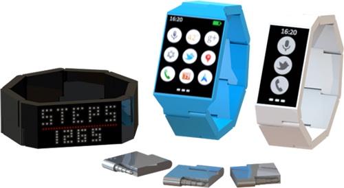 La Blocks est un concept de smartwatch modulaire, un lancement en 2015 ?