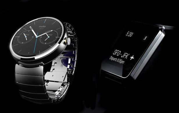 LG et Motorola dévoilent leurs smartwatchs sous Android Wear