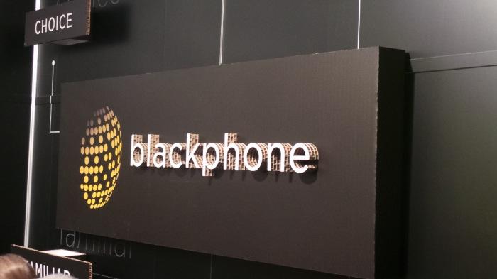 MWC'14 : rencontrez le Blackphone, le smartphone ultra-sécurisé