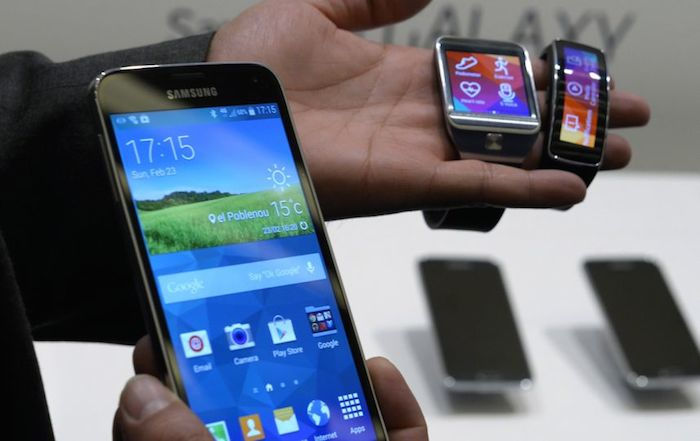 Samsung Galaxy S5, Gear 2 et Gear Fit