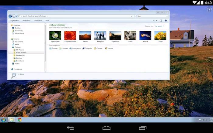 Google lance Chrome Remote Desktop pour mobile