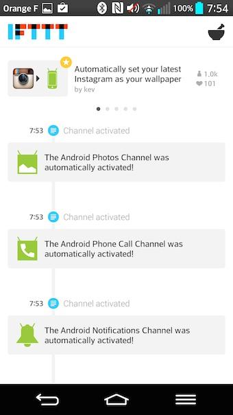De nouveaux canaux arrivent sur Android