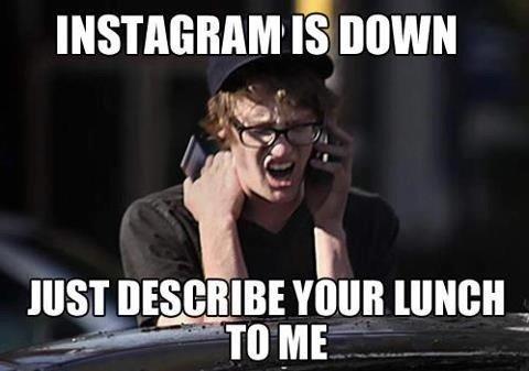 Instagram est down