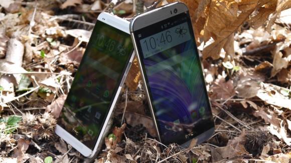 Écran LCD de 5 pouces sur le HTC One M8