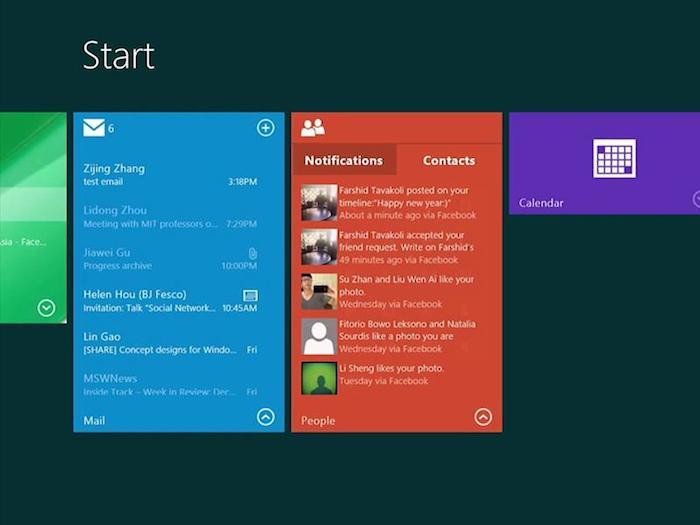 Microsoft pourrait rendre les Lives Tiles encore plus interactives