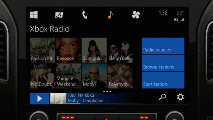 Xbox Radio dans votre voiture