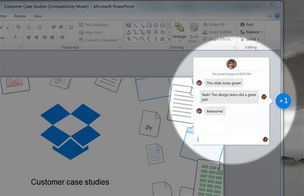 Project Harmony : Dropbox dévoile son outil de collaboration