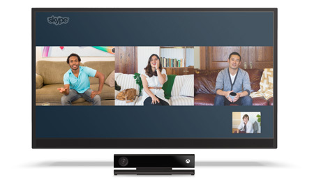 Skype sur Xbox
