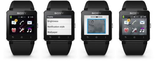 Mise à jour logicielle pour la Sony SmartWatch 2
