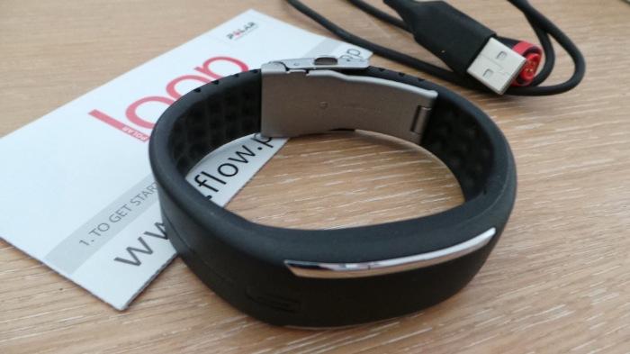 Possibilité d'adapter le bracelet du Loop