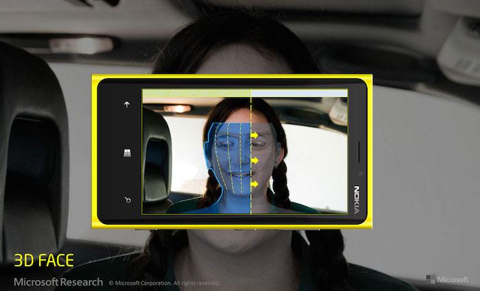 Une impression 3D de votre visage avec Windows Phone ?