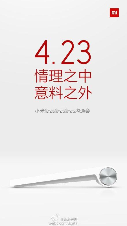 Xiaomi tease sa tablette Android