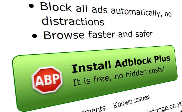 AdBlock Plus pourrait ralentir votre navigateur Firefox