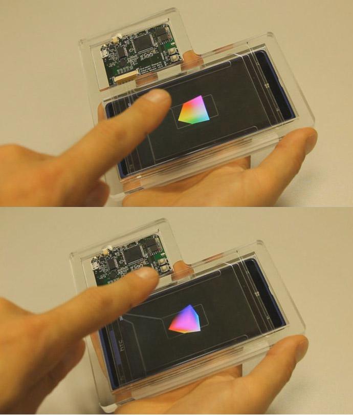 Ce capteur de Microsoft pourrait rendre l'écran de votre smartphone obsolète