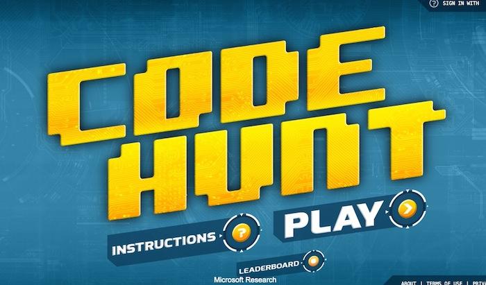 Code Hunt : un jeu pour apprendre à programmer