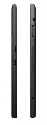 Lenovo ThinkPad 10 : vue des côtés