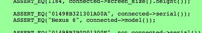 Nexus 6 repéré dans le code source de Chromium