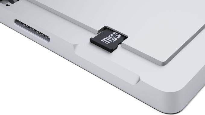 Port micro-SD de la Surface Pro 3