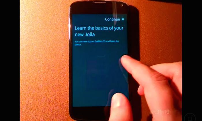 Sailfich OS porté sur le Google Nexus 5