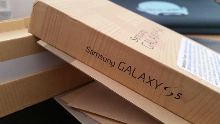 Cliché pris sur le Galaxy S5