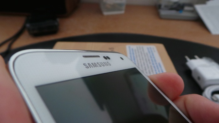 Les bords ne sont pas forcement très minces sur le Galaxy S5