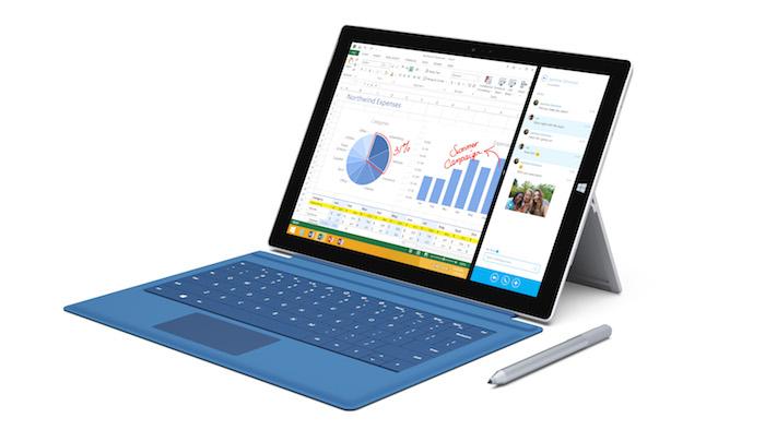 Surface Pro 3 : les spécifications détails des processeurs révélées