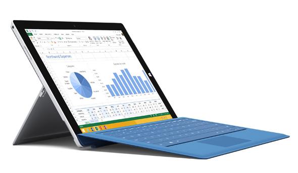 Type Cover de la Surface Pro 3