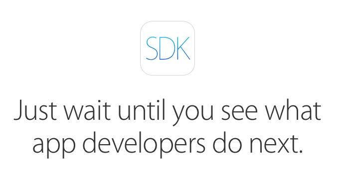 SDK de iOS 8
