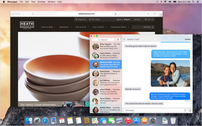 OS X Yosemite : nouveau design transludice