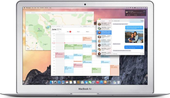 OS X Yosemite : design
