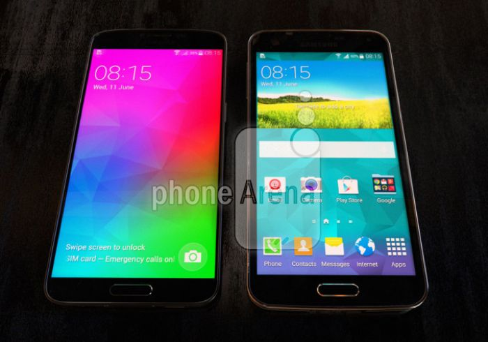 Samsung Galaxy F versus Samsung Galaxy S5